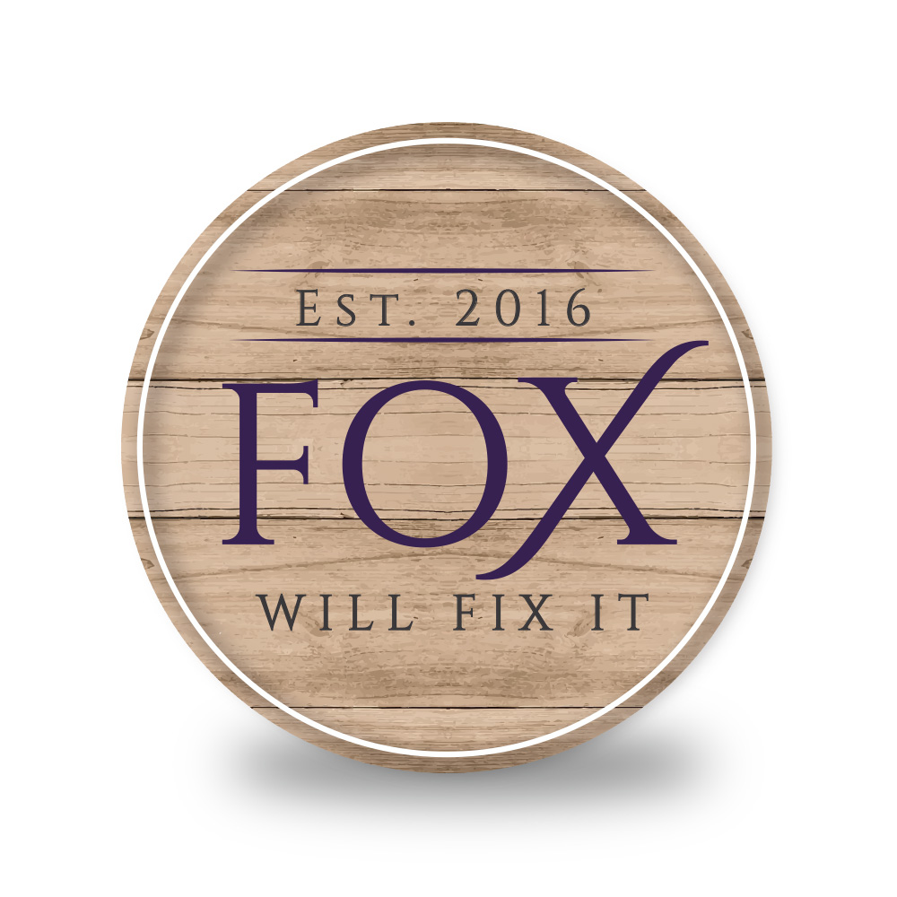 Logo design for FOX Will Fix It