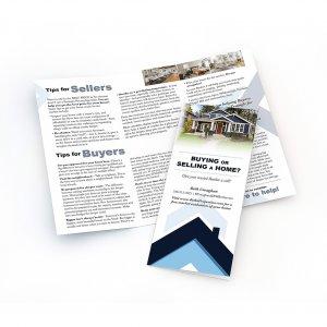 Brochure design for Beth Creaghan