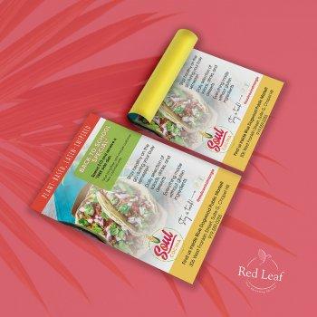 Flyer design for Soul Cocina