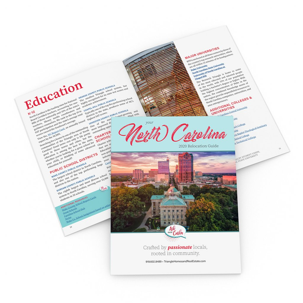 Brochure Design for Carolina Life