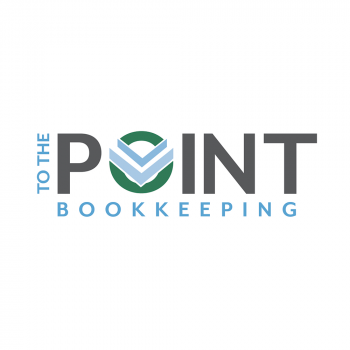 Logo design for To The Point Bookkeeping