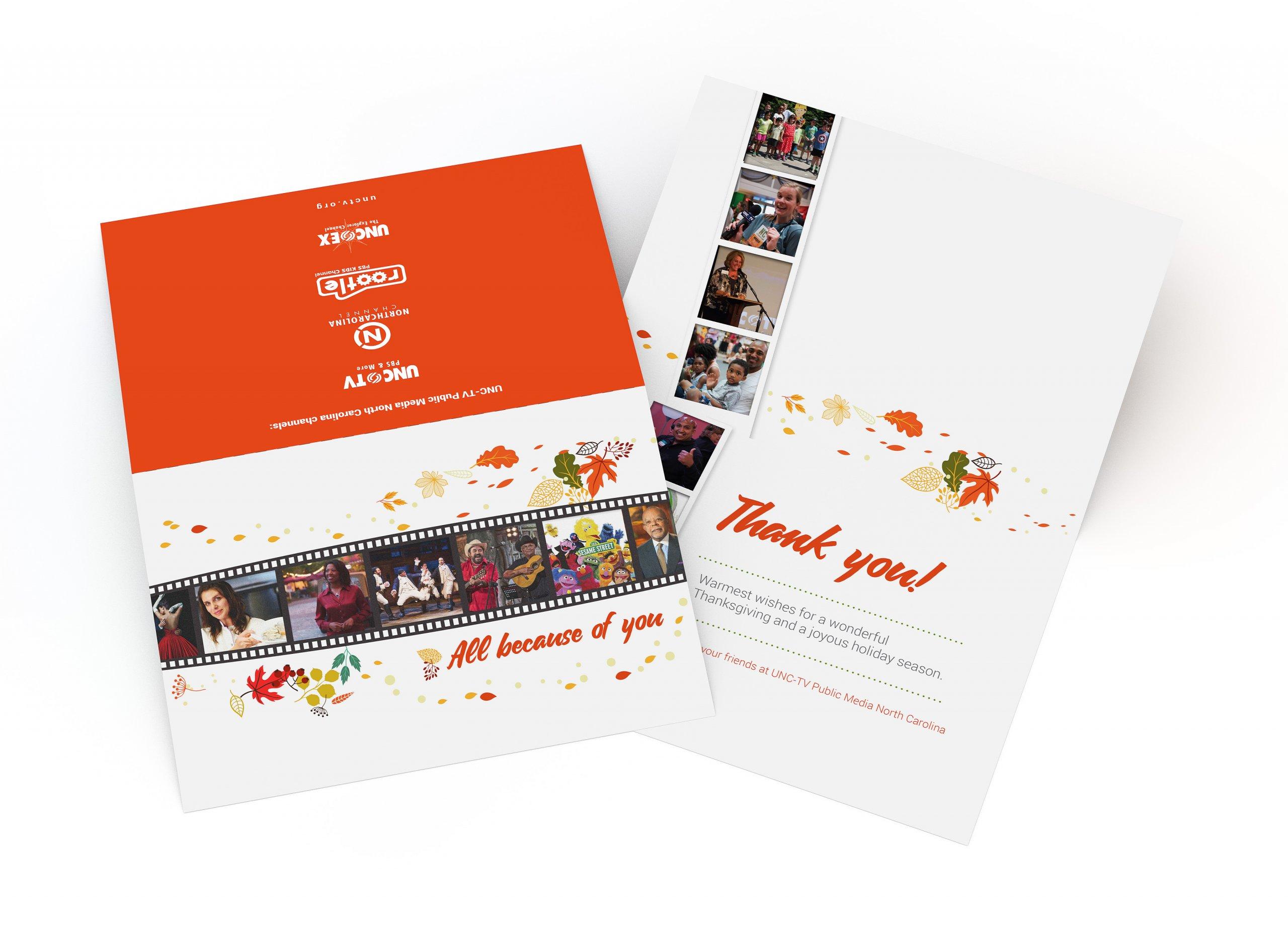 UNCTV Thanksgiving Card