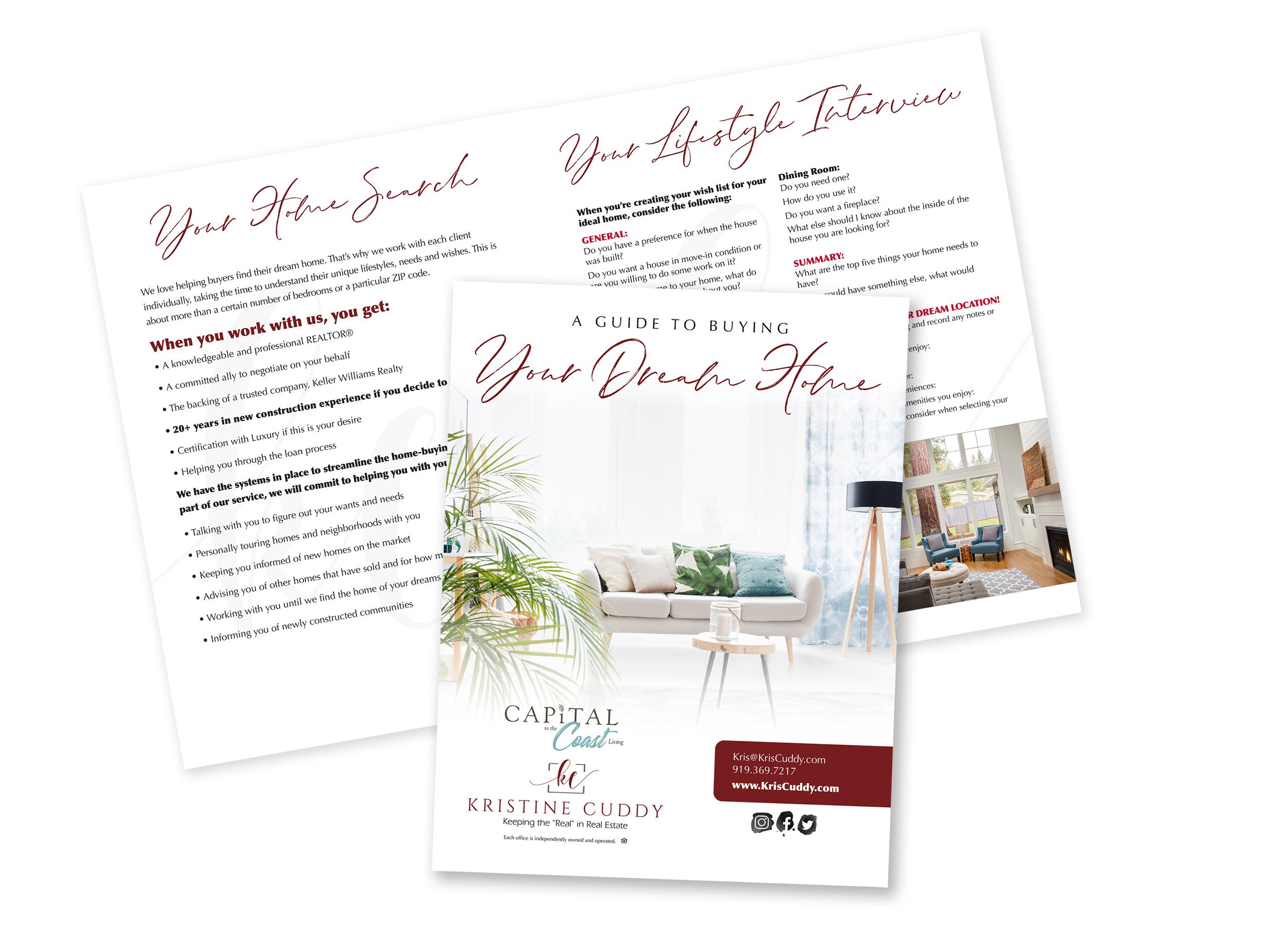 Kristine Cuddy New Buyer Presentation Design