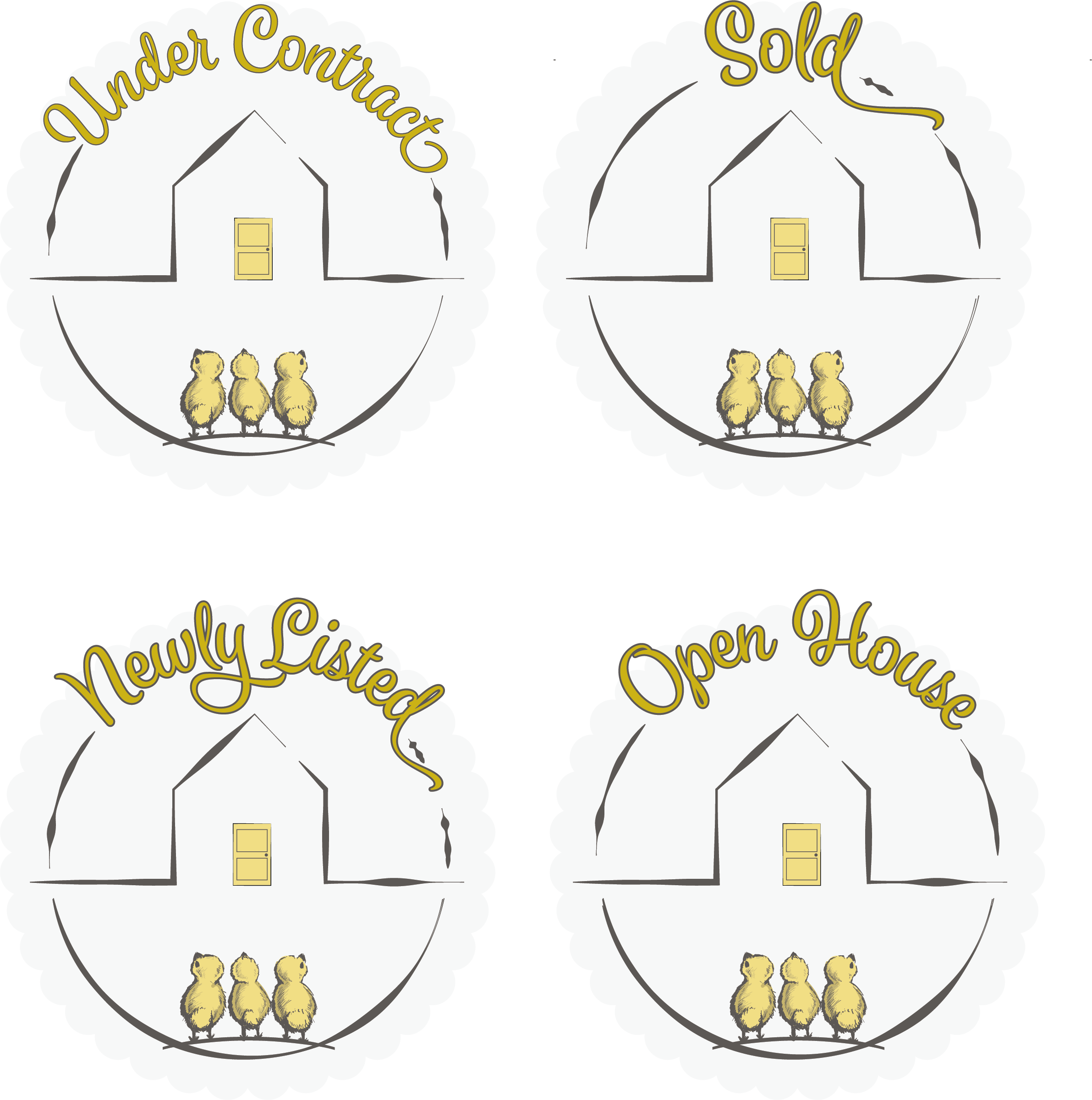 Custom real estate icons