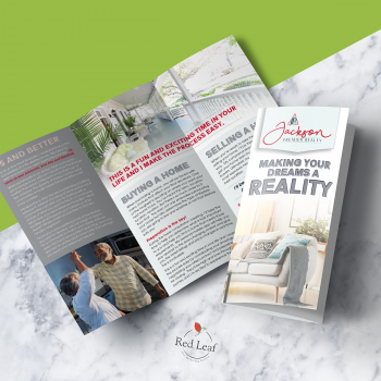 Tri-Fold Brochure Design + Brand Development